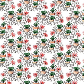 A Doodle of Flowers and Squiggles (small)