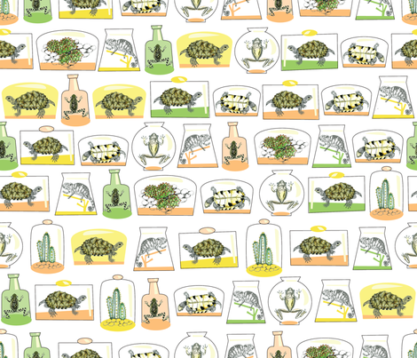 terrarium fabric by maribel on Spoonflower - custom fabric