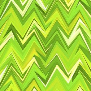 peridot zigzag