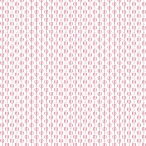 Pink Hot Air Balloon Stamp