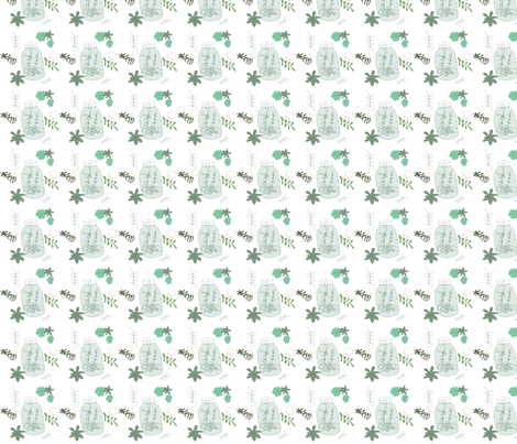 Hamilton_Terrarium fabric by pamela_hamilton on Spoonflower - custom fabric