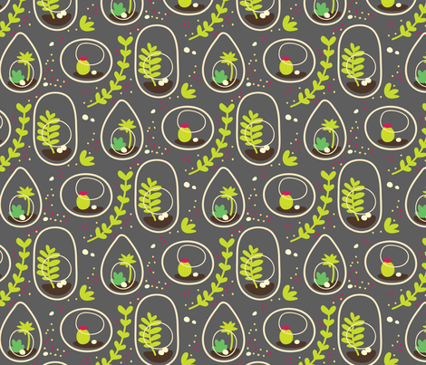 Tori's Terrarium fabric by torianne on Spoonflower - custom fabric