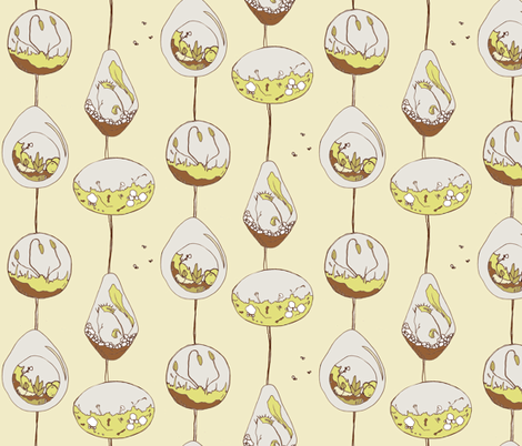 Bulla fabric by sparegus on Spoonflower - custom fabric