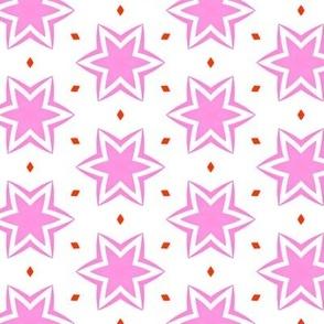 Summer Breeze Pink Star
