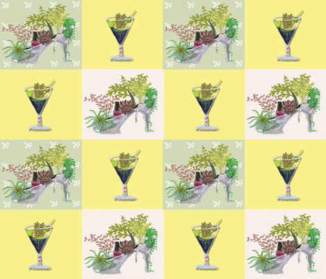 TheGlass_Slipper fabric by chovy on Spoonflower - custom fabric
