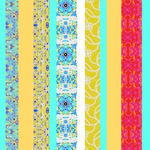 Ocean Pattern Stripes