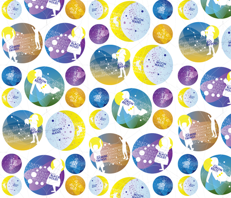 Kosmic Kids fabric by julesrahilly on Spoonflower - custom fabric