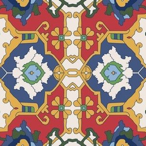 16th Century Floral Border Color Request VI.
