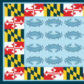 Maryland Crab Scarf