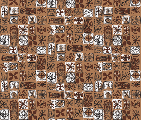 Castaway Cloth- volcanic ash fabric by sophista-tiki on Spoonflower - custom fabric