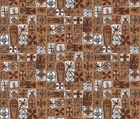 Castaway Cloth- volcanic ash fabric by sophista-tiki_by_dawn_frasier on Spoonflower - custom fabric