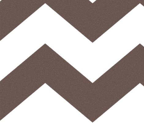 Ziggy Cameo WP- Coffee fabric by natitys on Spoonflower - custom fabric