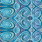 Frozen Swirls - Snow Queen Inspired Spirals