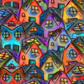Artwork - Houses