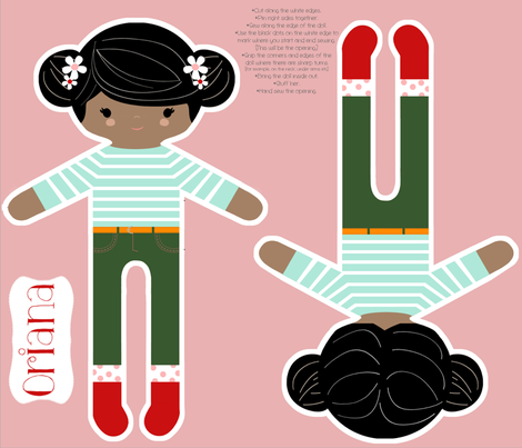 Oriana fabric by natitys on Spoonflower - custom fabric