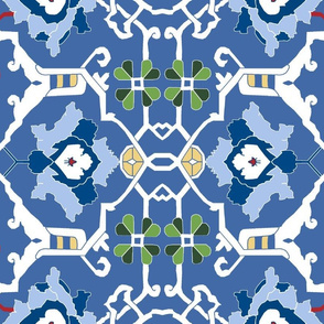 Final Custom 16th Century Floral Border
