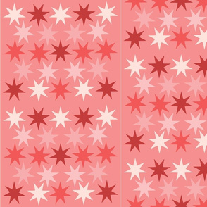 pink star shower