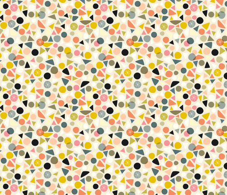 Mod Mosaic fabric by nadiahassan on Spoonflower - custom fabric