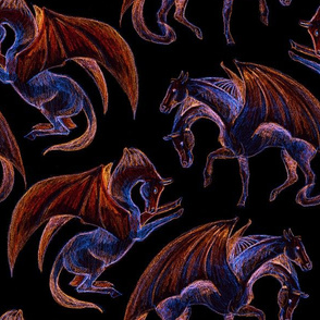 Inverted Dragonhorses