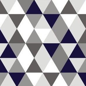 Geo Mod Navy Grey
