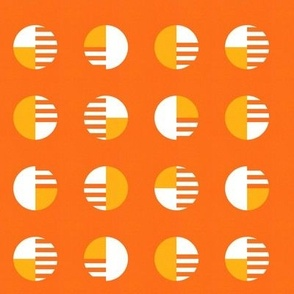 Phased Circles in Orange