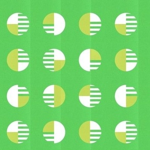 Phased Circles in Green
