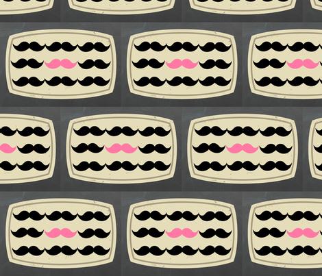Label me Pink Mustachios