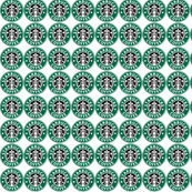 Starbucks Logo Fabric