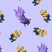 Purple and Yellow Minions
