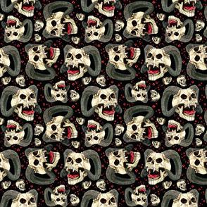 Ditzy Demon Skulls