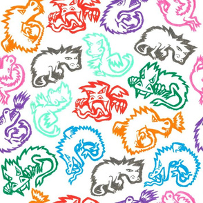 Crayon Dragons