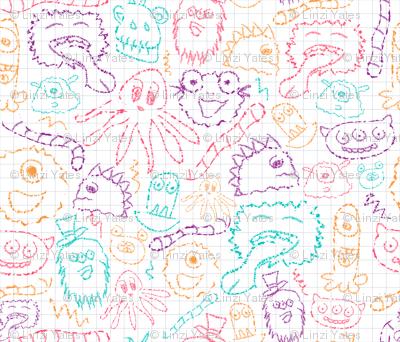 Fuzzy-Wuzzy-Monsters