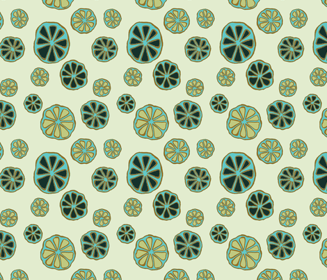 Whirls Sweetfern fabric by gollybard on Spoonflower - custom fabric