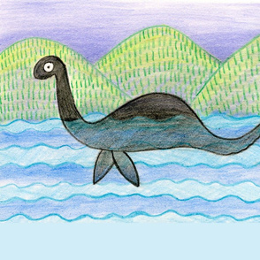 nessie pillow case