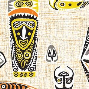 New Guinea Masks 1a