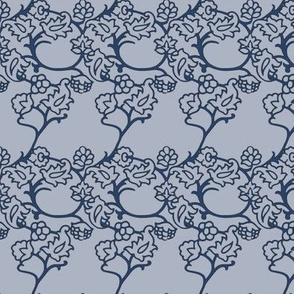 Victoria's Garden ~ Henriette Blue