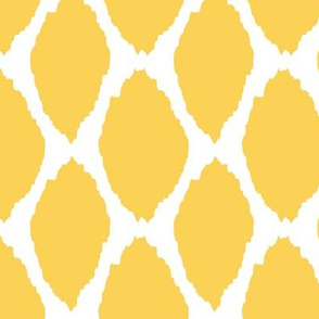 Lemon Oval Ikat II