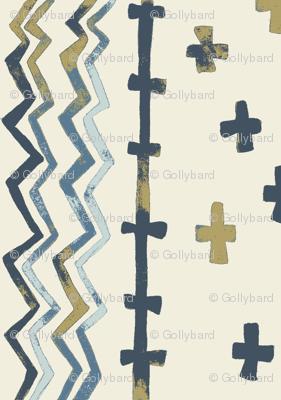 Sawtooth Stripe Pearlwood