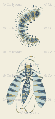 Zebra Fly Pearlwood