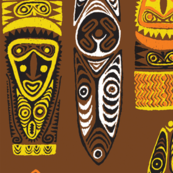 New Guinea Masks 2a