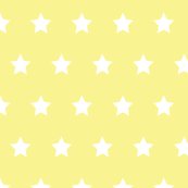 Stars white on yellow