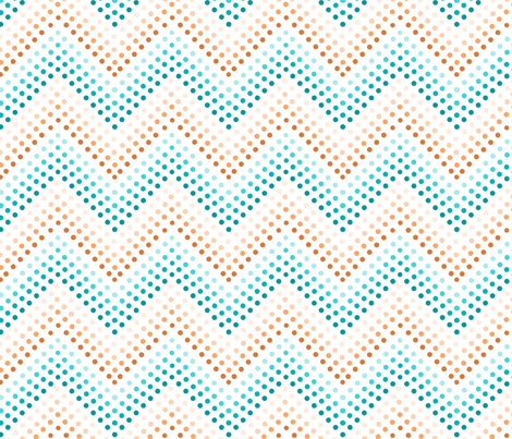 Dotted Chevrons Summer