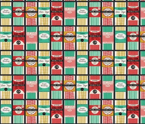 Bias Tape fabric by heidikenney on Spoonflower - custom fabric
