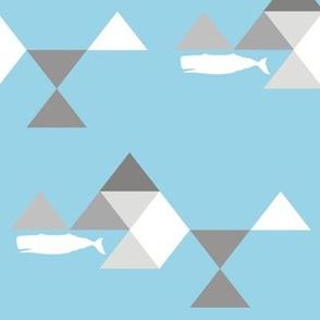 Geo Mod Whale
