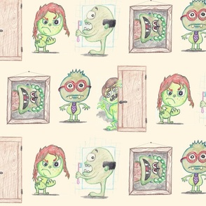 Green Monster Family