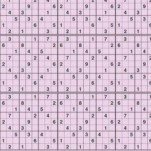 Sudoku Easy Lavender