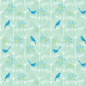 Blue birds mini
