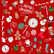 Santa's Workshop Christmas Holiday Design