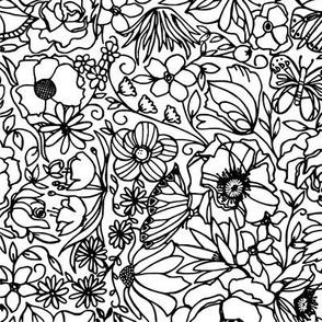 In the Garden Doodle