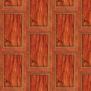 Rosewood Panel ~ Trompe l'Oiel